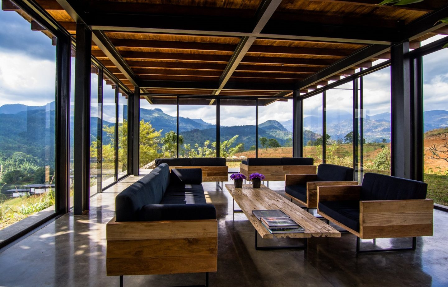 Santani main lounge - Picture by resort