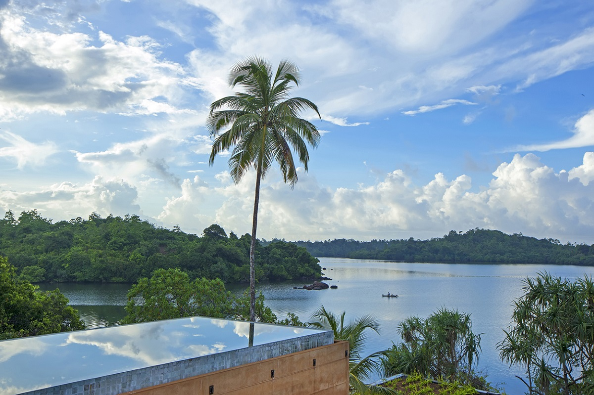 Tropical tranquility at Tri Lanka
