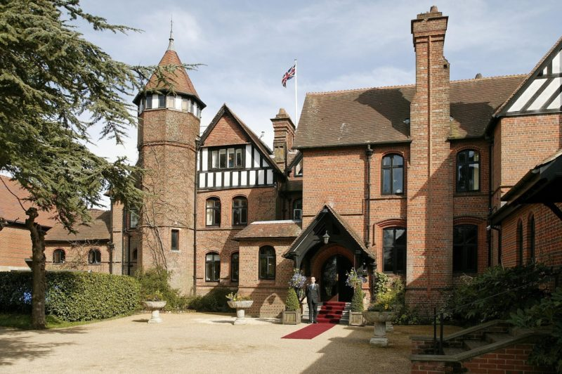 Careys Manor - Front entrance