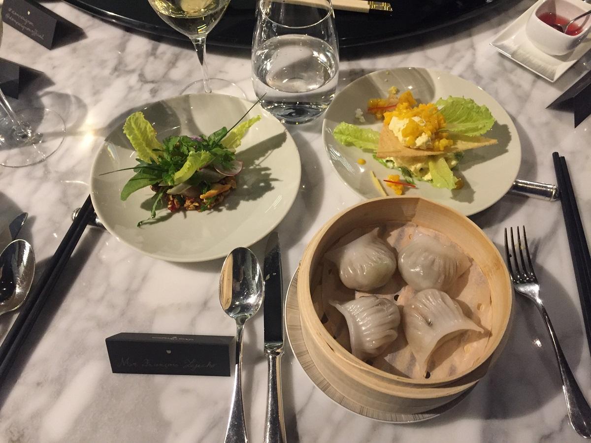 Alain Ducasse 8-course dinner – Second starters