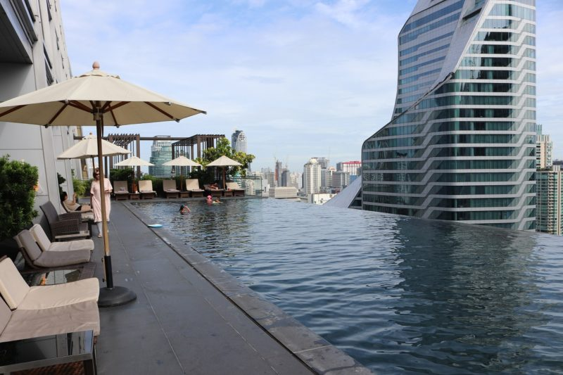 Exceptionnel Outdoor Infinity Pool At 25th Floor
