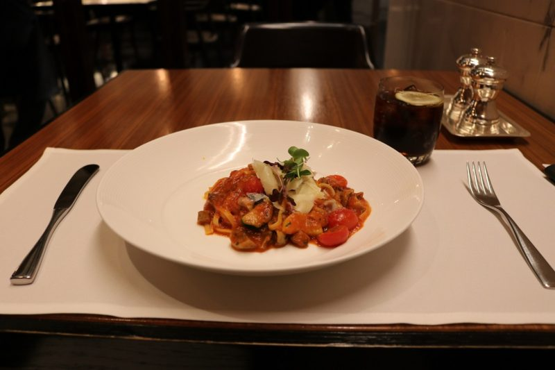 Pasta mushroom - A-la-carte Haven restaurant