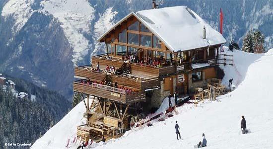 Le Bel Air mountain restaurant