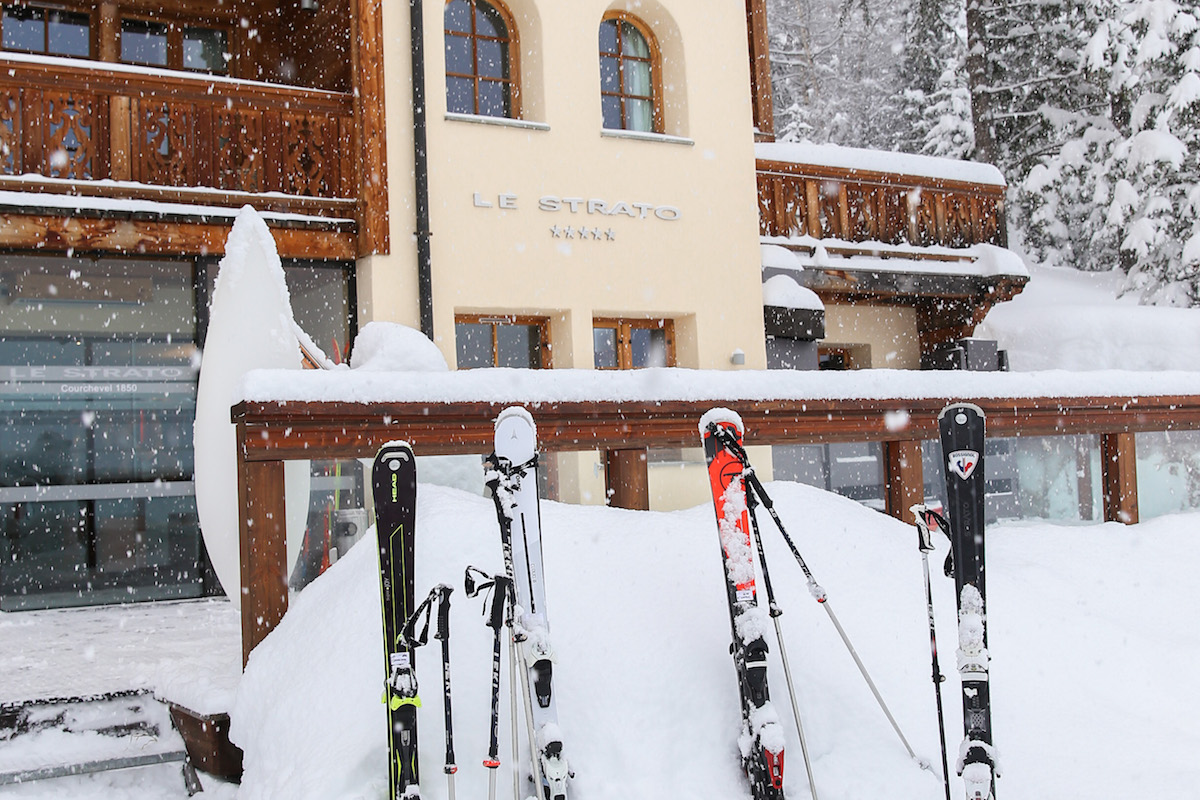 Memorable Snowy Experience at Le Strato Courchevel
