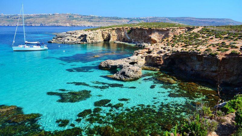 Lagoon in Malta