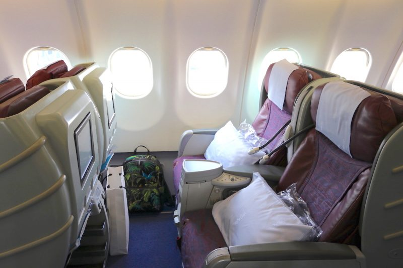 Onboarding China Airlines Business Class For A Short-Haul Flight