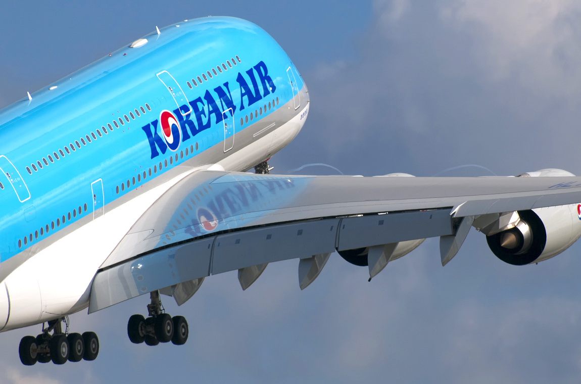 Flying Korean Air Prestige Class Aboard A380
