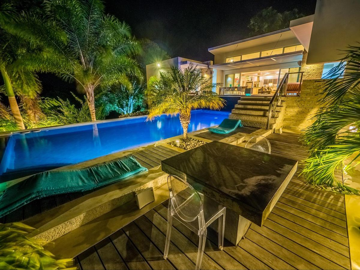 Pool Villa by night