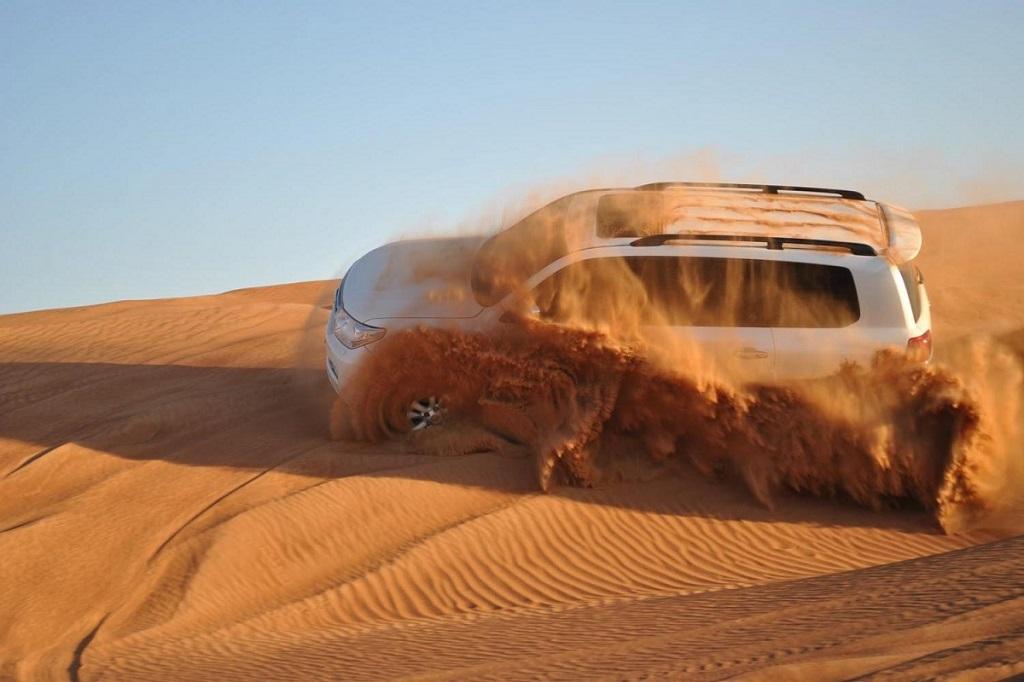 Safari desert tour in 4x4