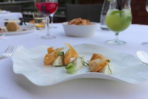 Le Loti restaurant - Cracker prawns