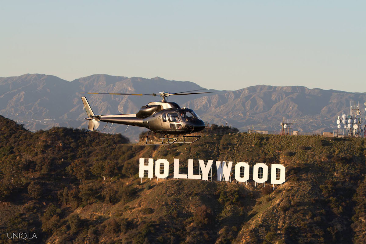 Helicopter tour in Los Angeles