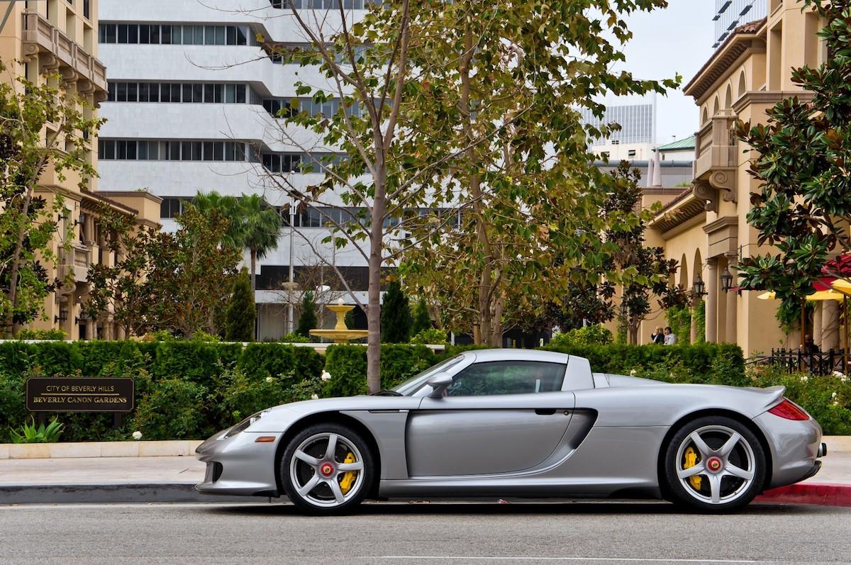 Porsche in Beverly Hills