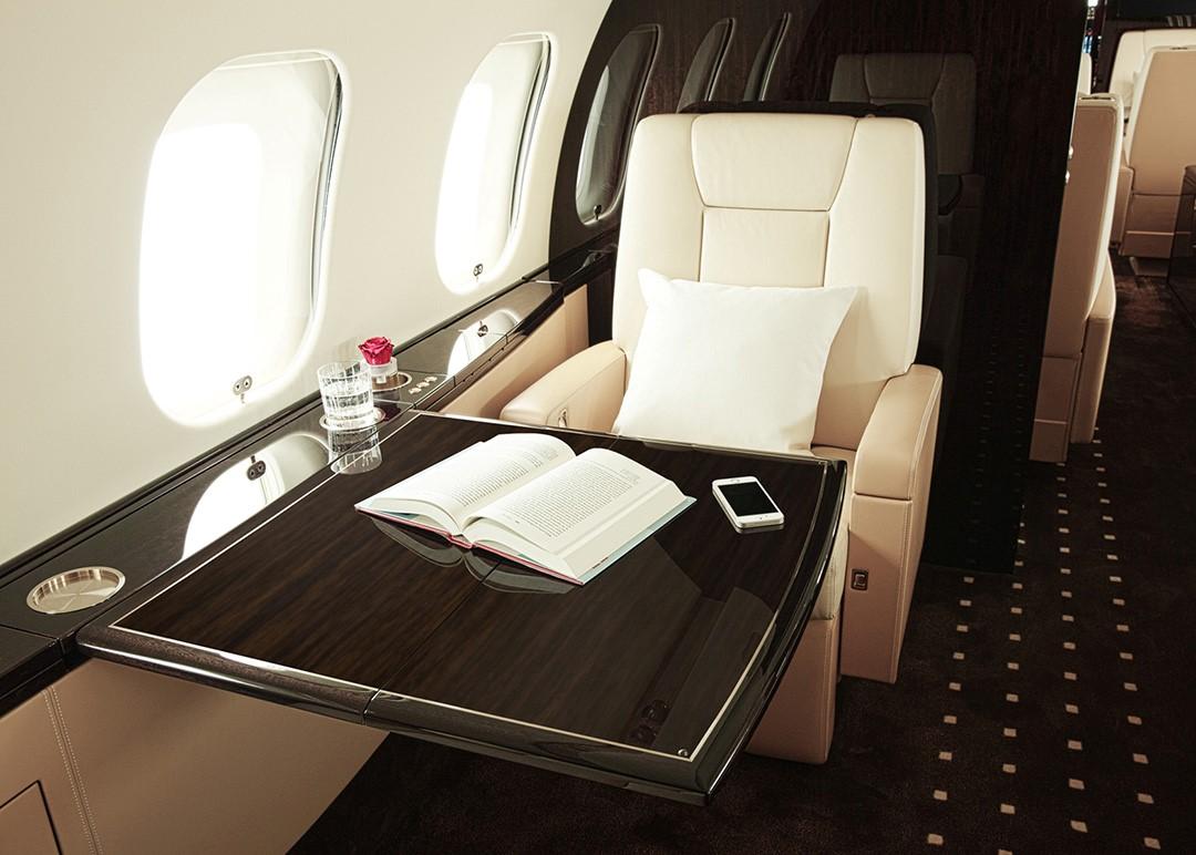 Vistajet - Jet interior