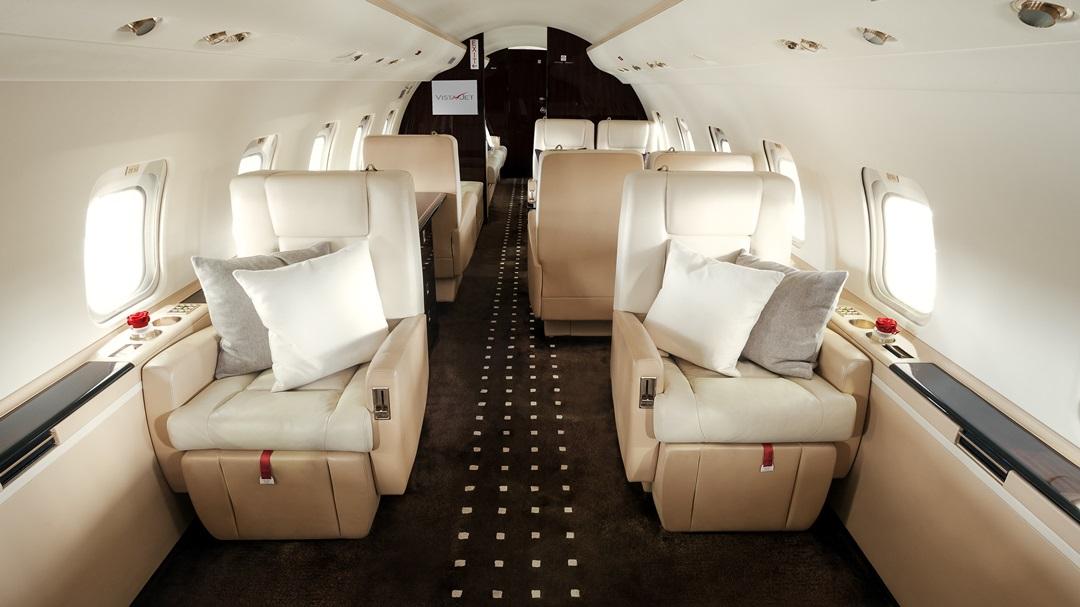 Vistajet - Jet cabin