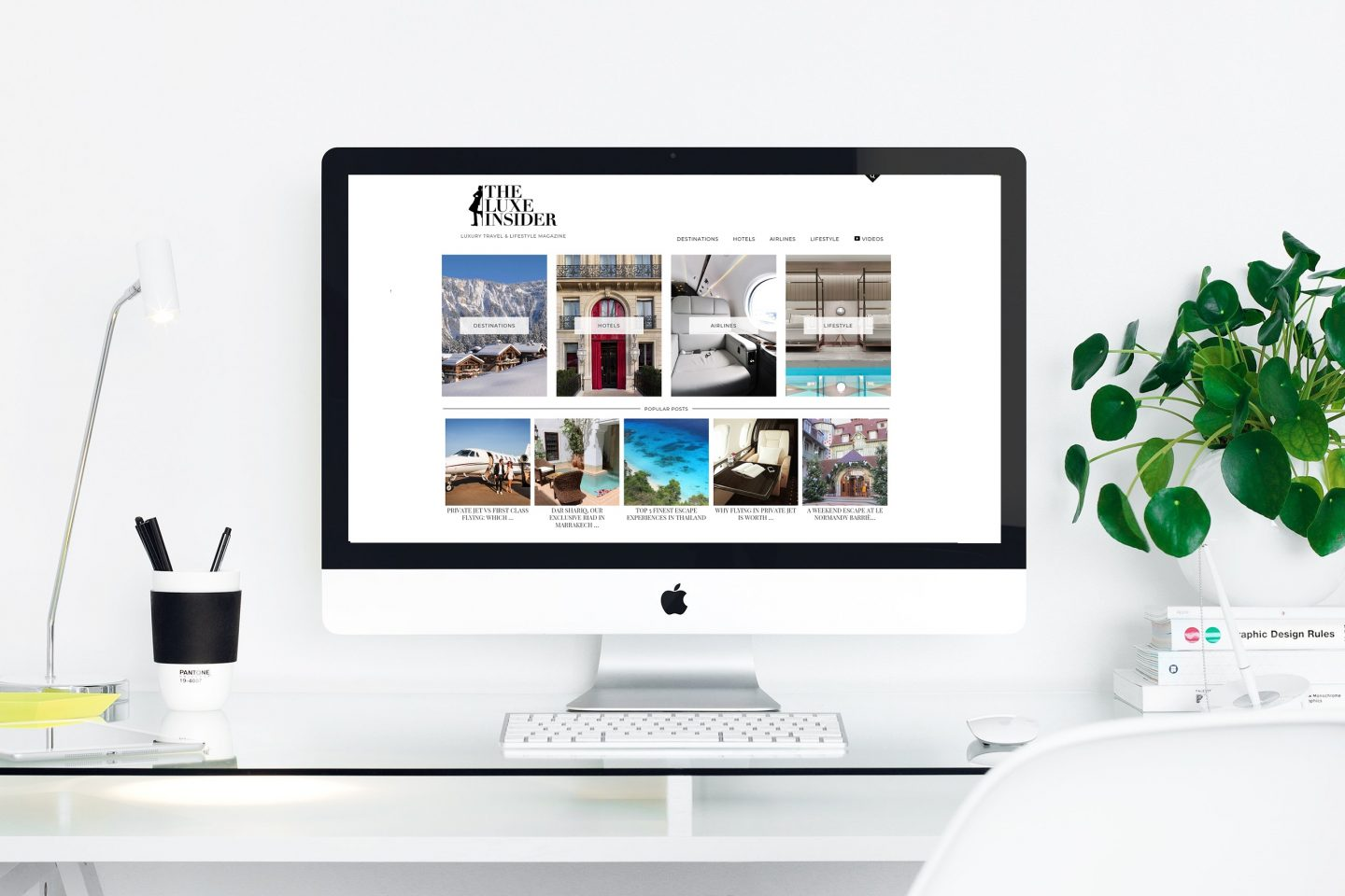 The Luxe Insider Homepage 2019