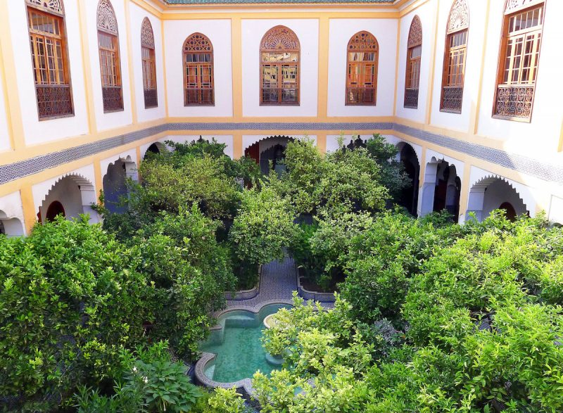 Palais Amani, A Luxurious Boutique Hotel Insider Fez?s UNESCO World Heritage Medina