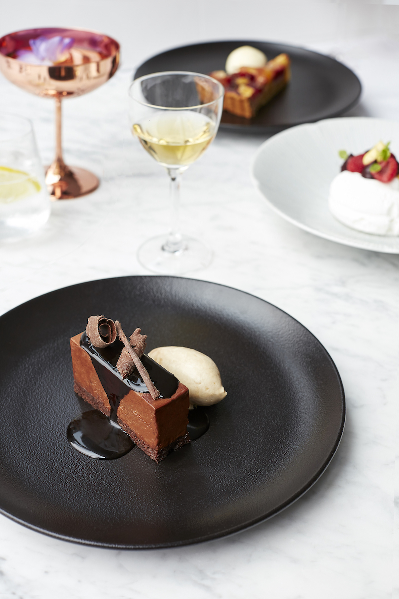 Chocolate mousse by William Curley
