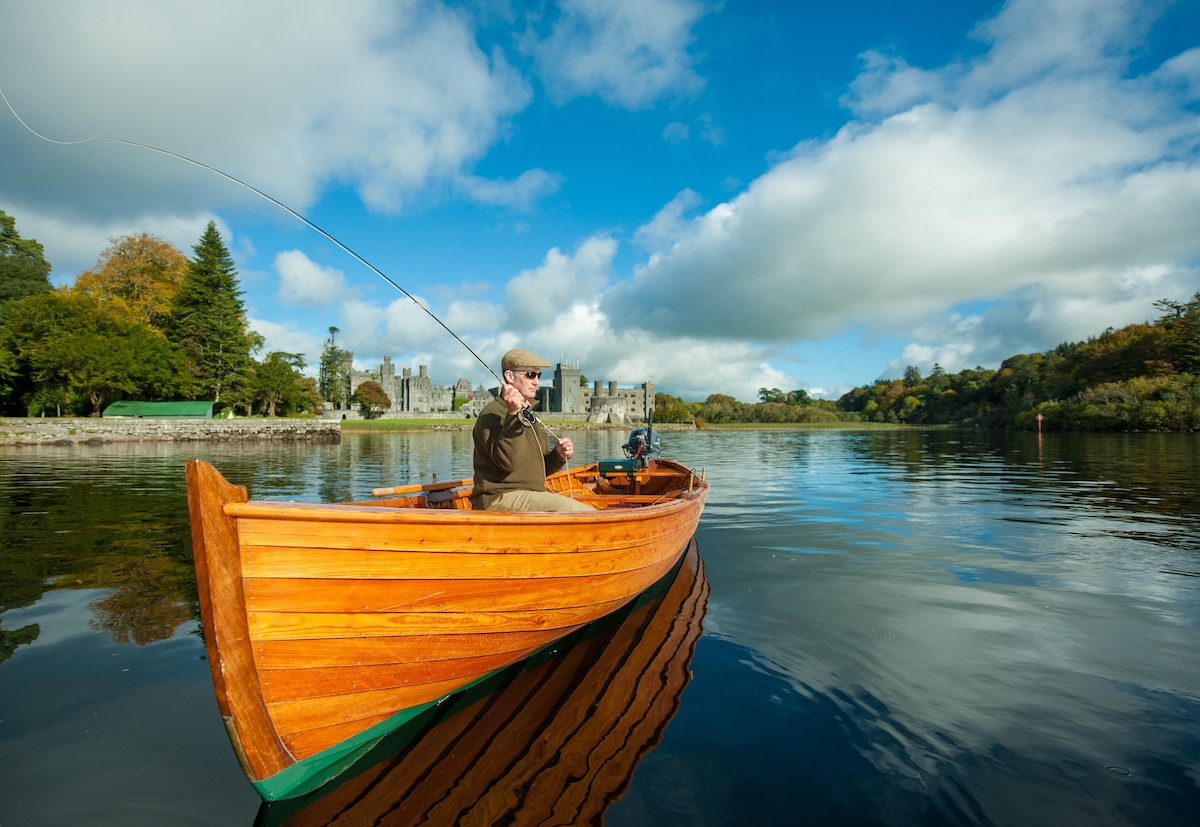 Fishing at Ashford Castle