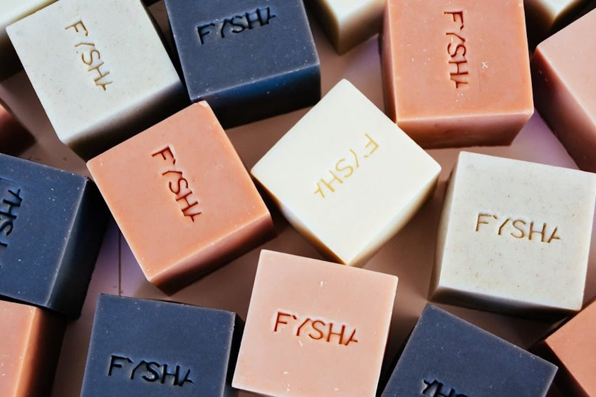 Natural handmade FYSHA soaps
