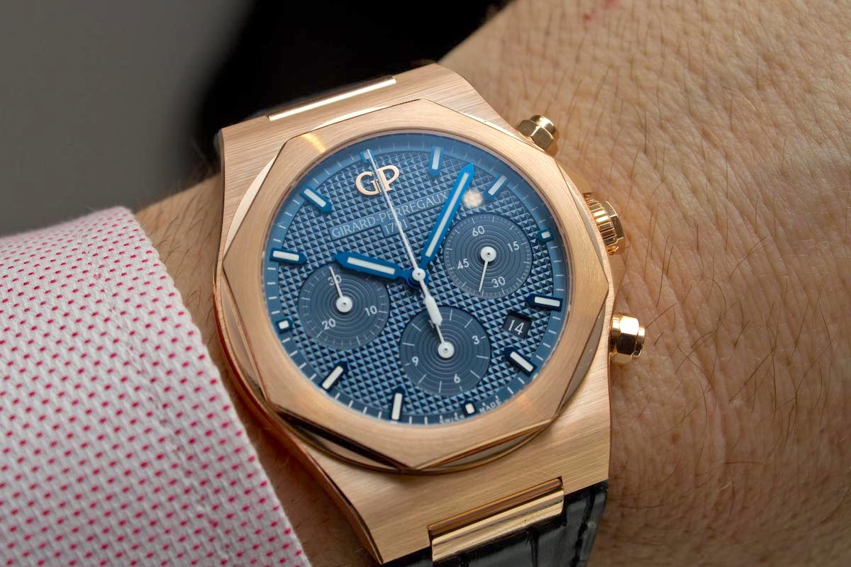 Hands-On: The Girard-Perregaux Laureato Chronograph 42mm