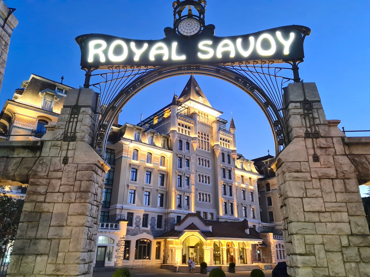 Pleasant Stay At Royal Savoy Lausanne
