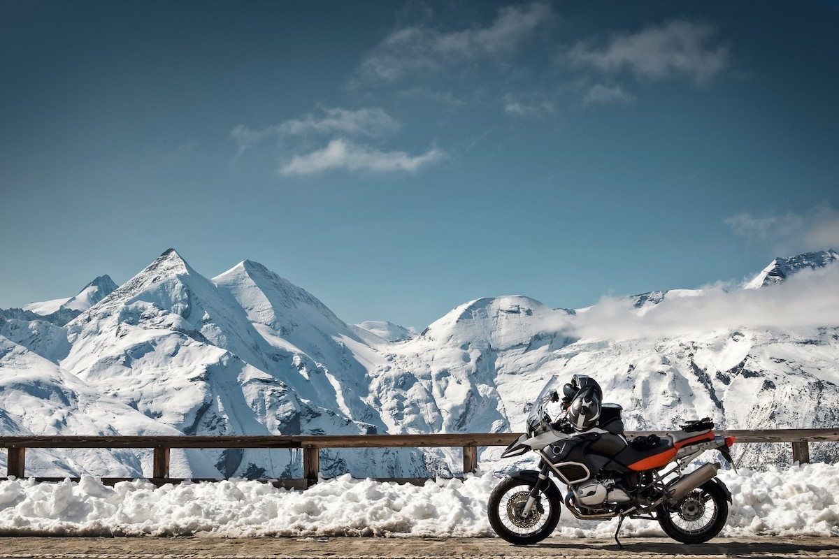 Take a Luxury Motorcycle Trip Around the Three Passes of Switzerland